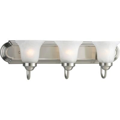 Progress Lighting P3053-09 Builder - Three Light Bath Vanity