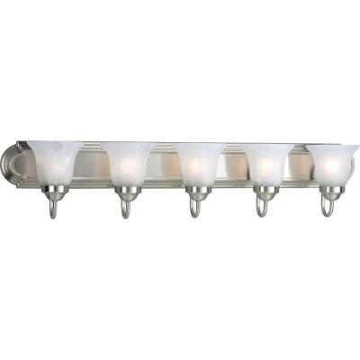 Progress Lighting P3055-09 Builder - Five Light Bath Bar