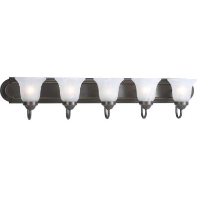 Progress Lighting P3055-20 Builder - Five Light Bath Bar