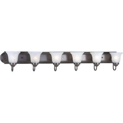 Progress Lighting P3056-20 Builder - Six Light Bath Bar
