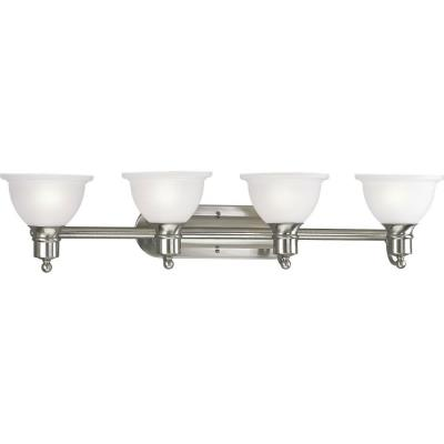Progress Lighting P3164-09 Madison - Four Light Bath Vanity