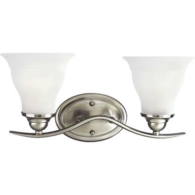 Progress Lighting P3191-09EBWB Trinity - Two Light Bath Vanity