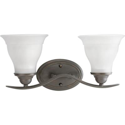 Progress Lighting P3191-20EBWB Trinity - Two Light Bath Vanity