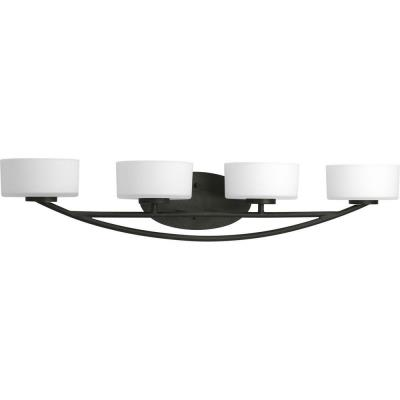 Progress Lighting P3236-80WB Calven - Four Light Bath Vanity