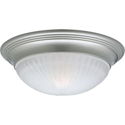 Progress Lighting P3761-09EBWB Melon - One Light Flush Mount