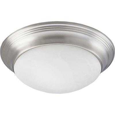 Progress Lighting P3764-09EBWB Melon - One Light Flush Mount