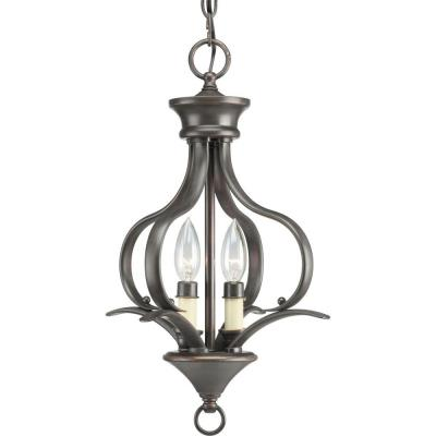 Progress Lighting P3806-20 Two-Light Foyer Fixture