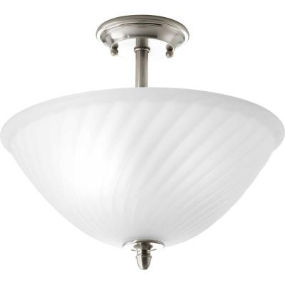 Progress Lighting P3829-09 Kensington - Two Light Semi-Flush Mount