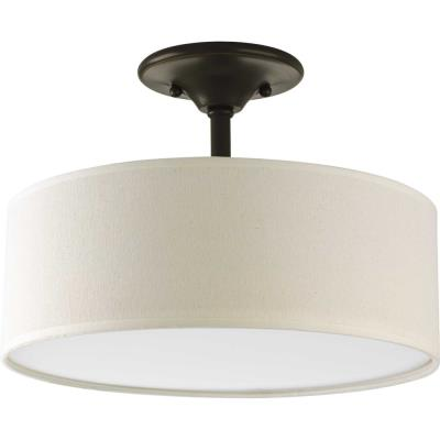 Progress Lighting P3939-20 Inspire - Two Light Semi-Flush Mount