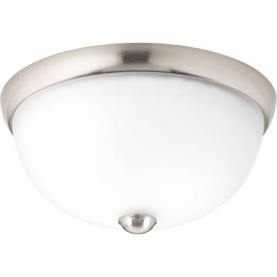 Progress Lighting P3997-09WB Random - One Light Semi-Flush Mount