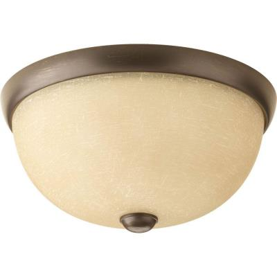 Progress Lighting P3999-20WB Random - One Light Flush Mount
