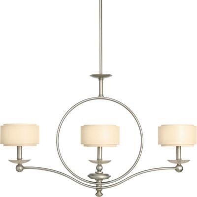 Progress Lighting P4349-134 Ashbury - Three Light Linear Chandelier