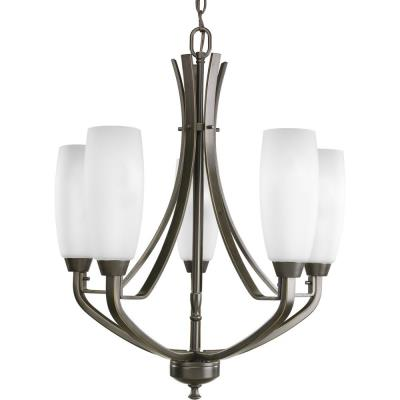Progress Lighting P4436-20 Five-Light Chandelier Fixture - Chandelier