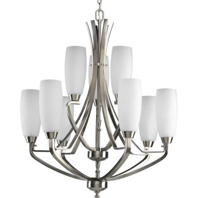 Progress Lighting P4439-09 Westin - 9 Light 2 Tier Chandelier