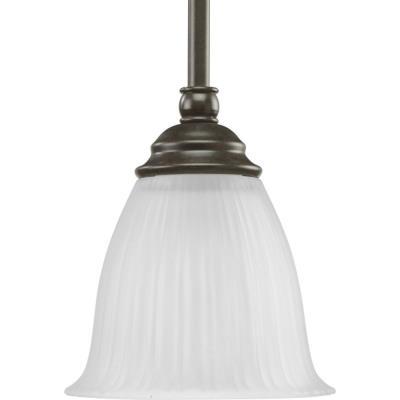 Progress Lighting P5104-77 Renovations - One Light Mini-Pendant