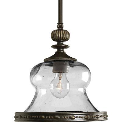 Progress Lighting P5140-77 Fiorentino - One Light Mini Pendant