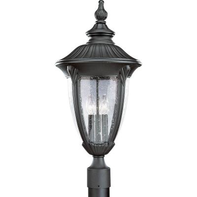 Progress Lighting P5420-31 Meridian - Three Light Outdoor Post