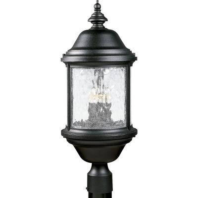 Progress Lighting P5450-31 Ashmore - Three Light Outdoor Post