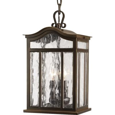Progress Lighting P5502-108 Meadowlark - Three Light Outdoor Hanging Lantern