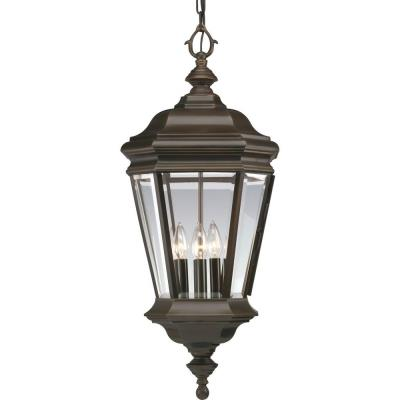 Progress Lighting P5574-108 Crawford - Four Light Outdoor Hanging Lantern