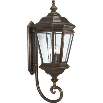 Progress Lighting P5673-108 Crawford - Four Light Outdoor Wall Lantern