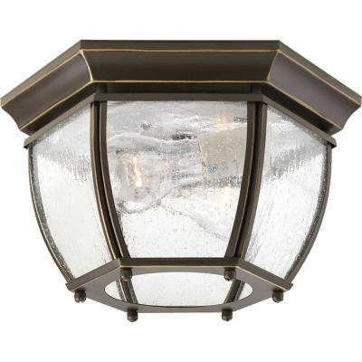 Progress Lighting P6019-20 Roman Coach - Two Light Flush Mount