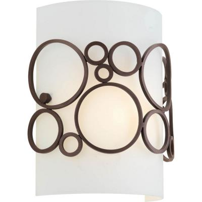Progress Lighting P7056-74 Bingo - One Light Wall Sconce