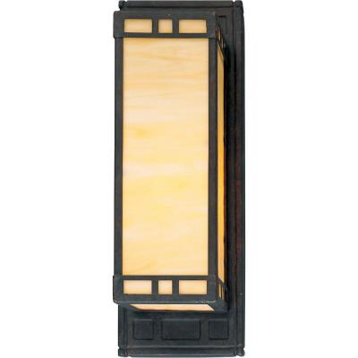 Progress Lighting P7138-46EB Arts and Crafts - One Light Wall Sconce