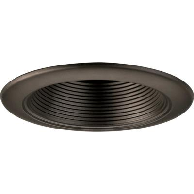 "Progress Lighting P8044-20 Accessory -  4"" Step Baffle Trim"