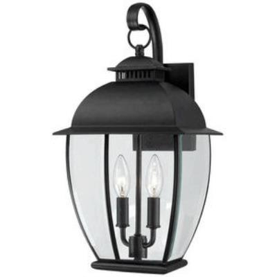 Quoizel Lighting BAN8409K Bain - Two Light Outdoor Wall Lantern