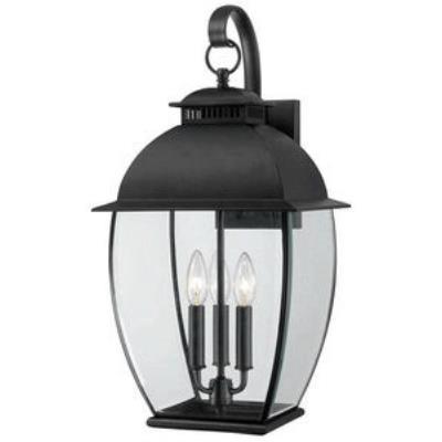 Quoizel Lighting BAN8411K Bain - Three Light Outdoor Wall Lantern
