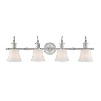 Quoizel Lighting BGT8604BN Broadgate - Four Light Bath Bar