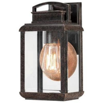 Quoizel Lighting BRN8406IB Byron - One Light Small Outdoor Wall Lantern