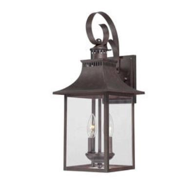 Quoizel Lighting CCR8408CU Chancellor - Two Light Outdoor Wall Lantern