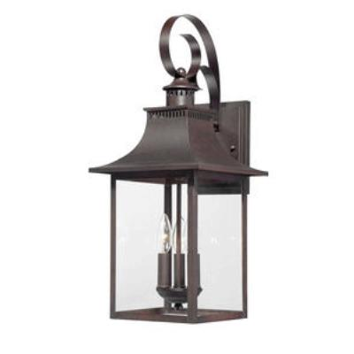Quoizel Lighting CCR8410CU Chancellor - Three Light Outdoor Wall Lantern