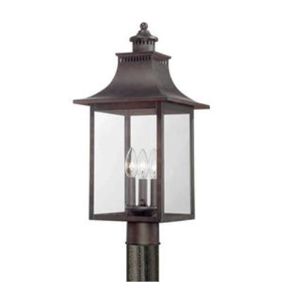 Quoizel Lighting CCR9010CU Chancellor - Three Light Post