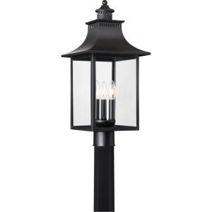 Chancellor - Three Light Outdoor Post Lantern
