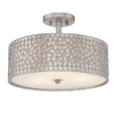Quoizel Lighting CKCF1717OS Confetti - Three Light Semi-Flush Mount