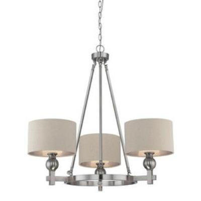 Quoizel Lighting CKMO5003BN Metro - Three Light Chandelier