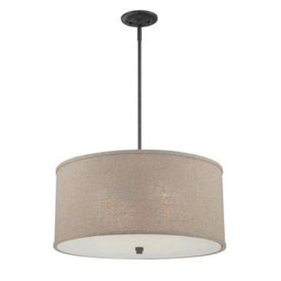 Quoizel Lighting CRA2822MC Cloverdale - Four Light Large Pendant