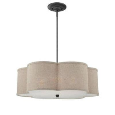 Quoizel Lighting CRA2826MC Cloverdale - Four Light Large Pendant