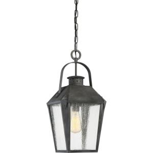 Carriage - 150W One Light Outdoor Large Hanging Lantern