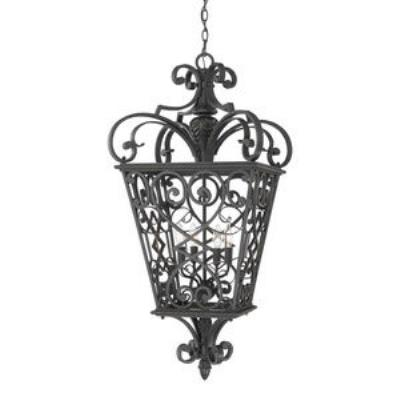Quoizel Lighting FQ1920MK01 Fort Quinn - Four Light Extra Large Hanging Lantern