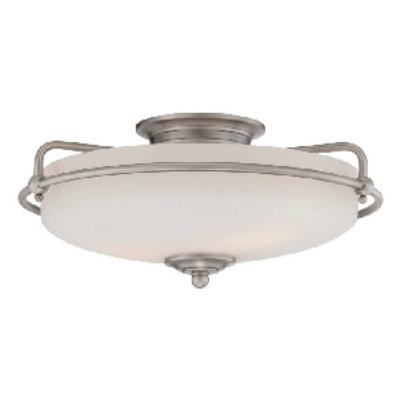 Quoizel Lighting GF1617AN Griffin - Three Light Semi-Flush Mount