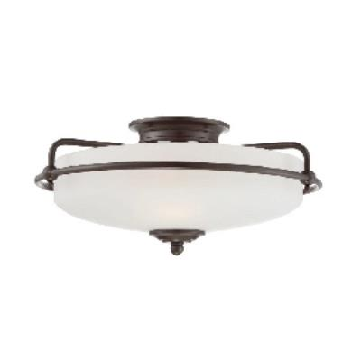 Quoizel Lighting GF1617PN Griffin - Three Light Semi-Flush Mount