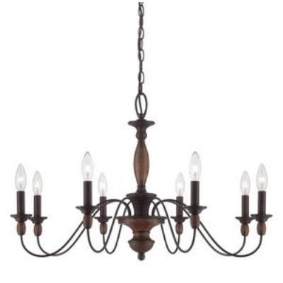 Quoizel Lighting HK5008TC Holbrook - Eight Light Chandelier