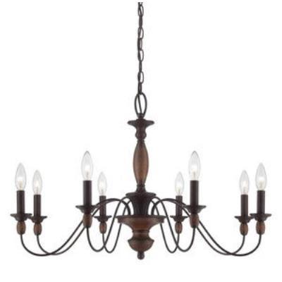 Quoizel Lighting HK5008TC Holbrook - Eight Light Chandelier