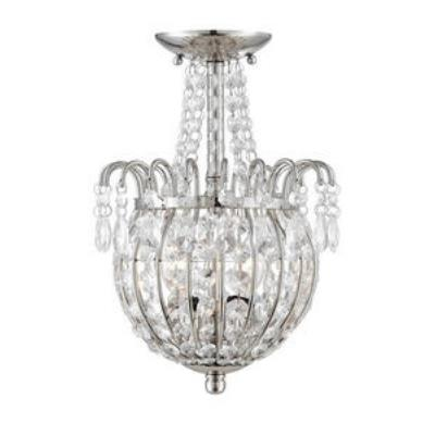 Quoizel Lighting JLE1709IS Jolene - Two Light Semi-Flush Mount