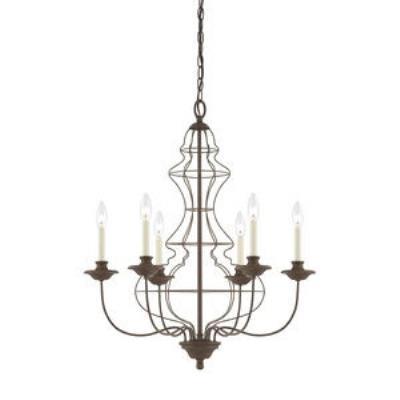 Quoizel Lighting LLA5006RA Laila - Six Light Chandelier