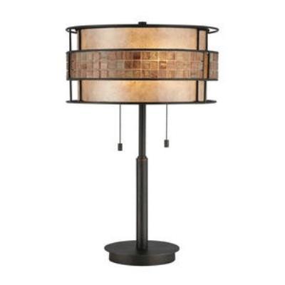 Quoizel Lighting MC842TRC Laguna - Two Light Table Lamp